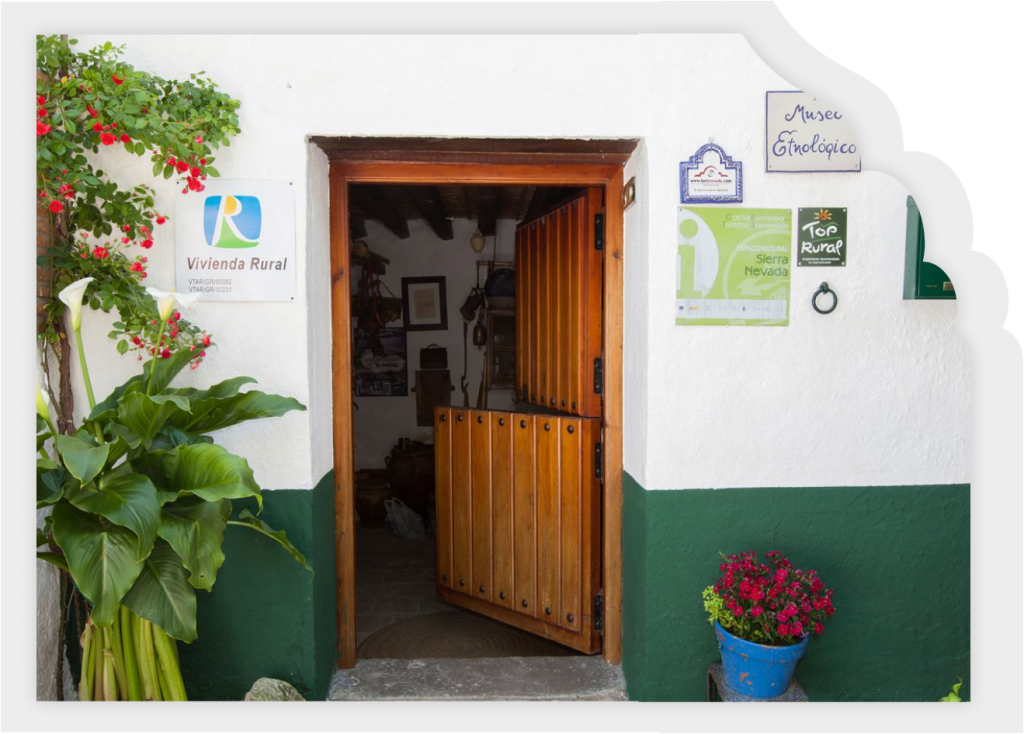 entrada de los alojamientos rurales los Molinos