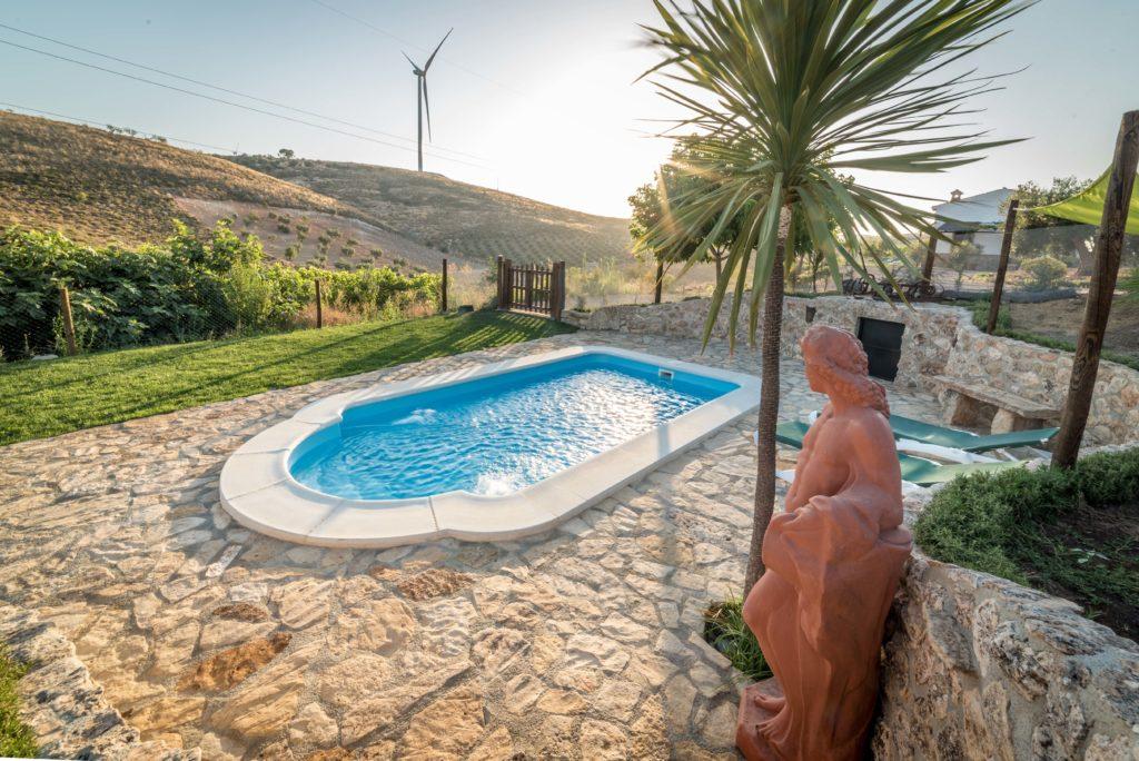 casa rural con piscina en Granada