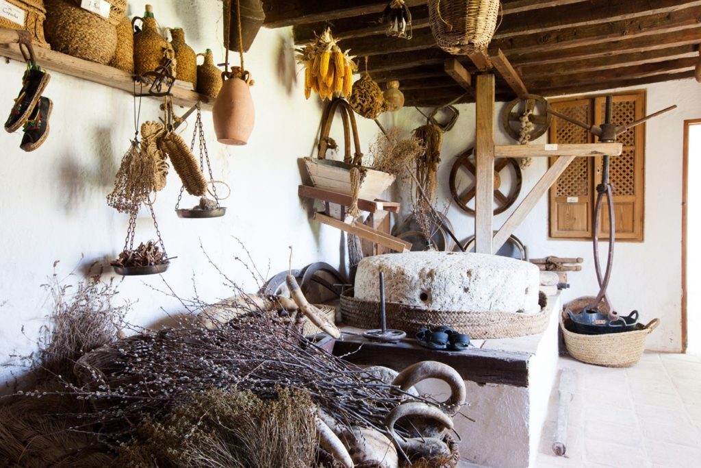 Molino árabe para turismo rural en Granada