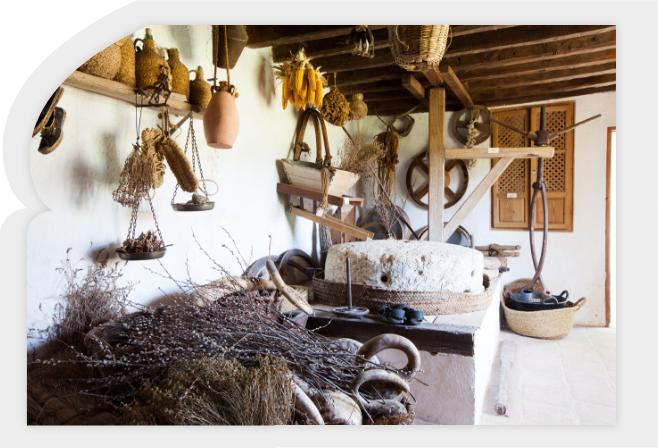 molino árabe harinero