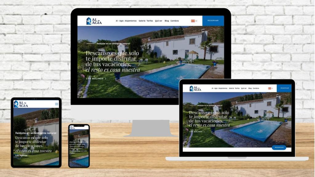 Nueva web Alojamientos Rurales Al Agia