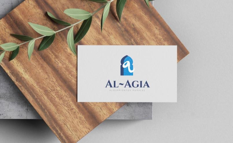 propuesta de la tarjeta de visita de los Alojamientos Rurales Al Agia